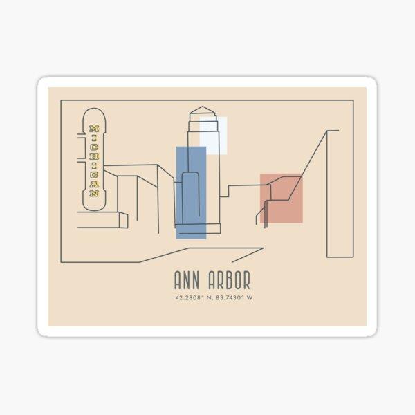 The City of Ann Arbor Sticker