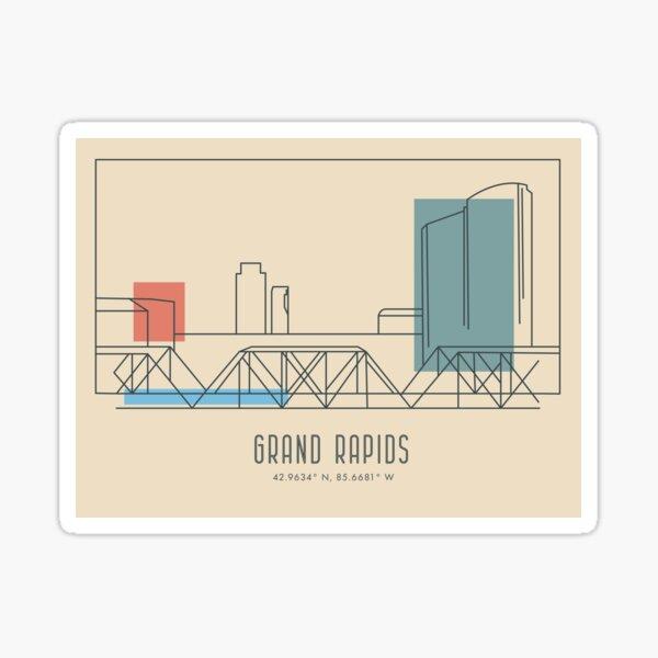 The City of Grand Rapids Sticker