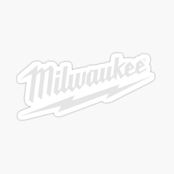 Milwaukee Tool Logo Sticker White Sticker