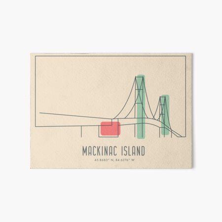 Mackinac Island Art Board Print