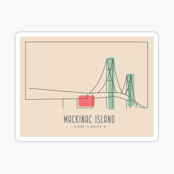 Mackinac Island Sticker