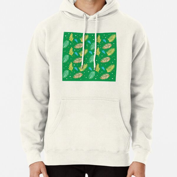Fall Patterns Pullover Hoodie