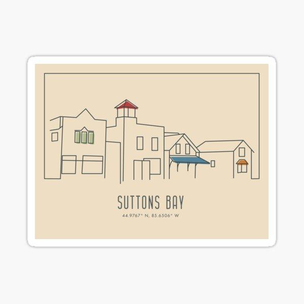 Suttons Bay, Michigan Sticker