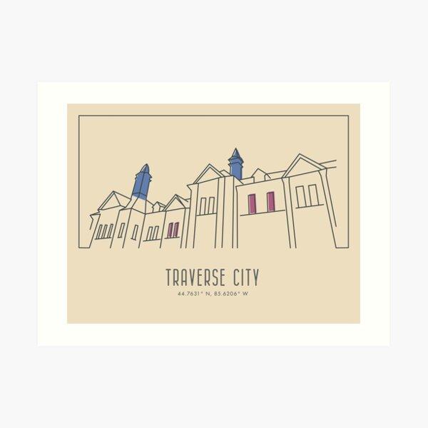 Traverse City, Michigan Art Print