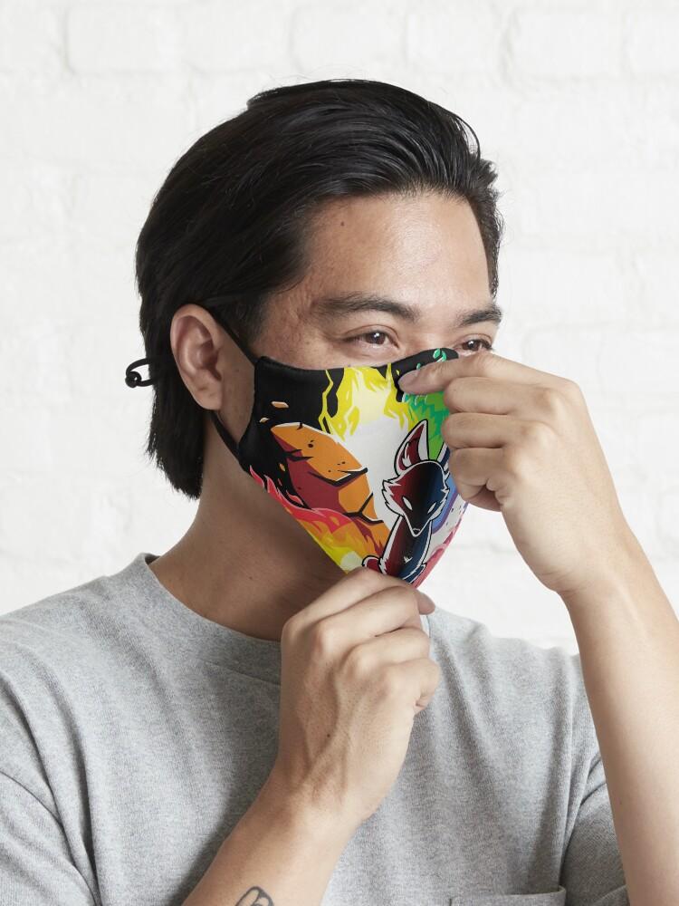 Alternate view of Kitsune Nine Tail fox Mask