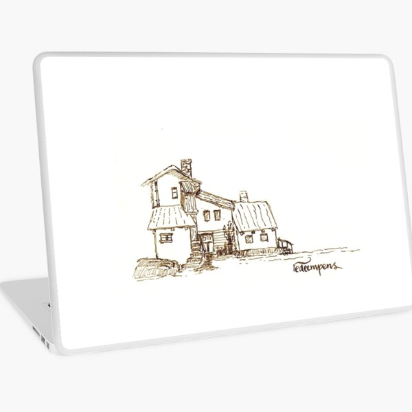 Childhood House Laptop Skin