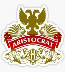 The Aristocrat Coat-of-Arms Sticker