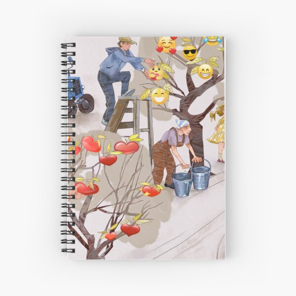 Likes harvesting Spiral Notebook