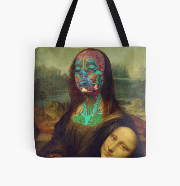 Monalisa is overrated All Over Print Tote Bag