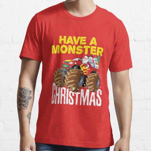 Monster Truck Christmas Essential T-Shirt