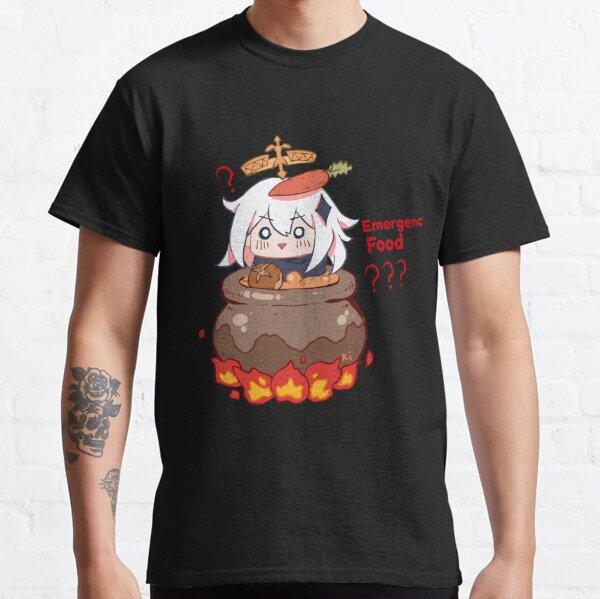 Impacto de emergencia de Paimon Genshin Impact Camiseta clásica