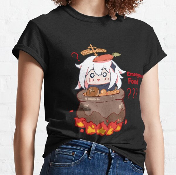 Paimon Genshin Impact Emergency Impact Classic T-Shirt