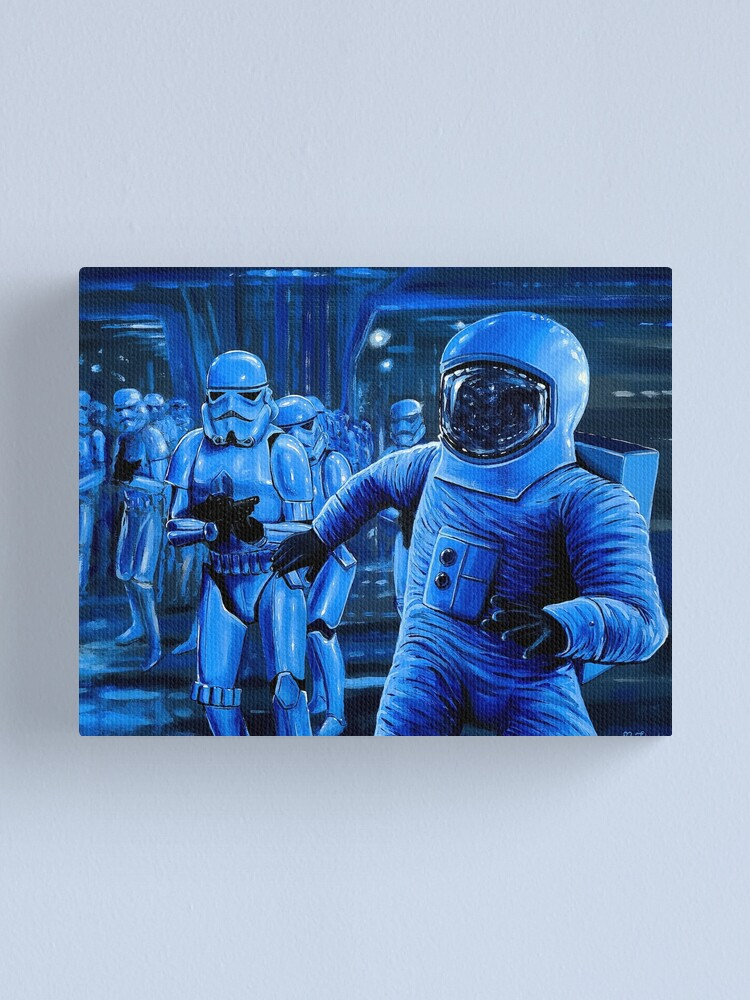 Alternate view of The Dark Side Canvas Print