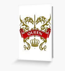 The Queen Coat-of-Arms Greeting Card