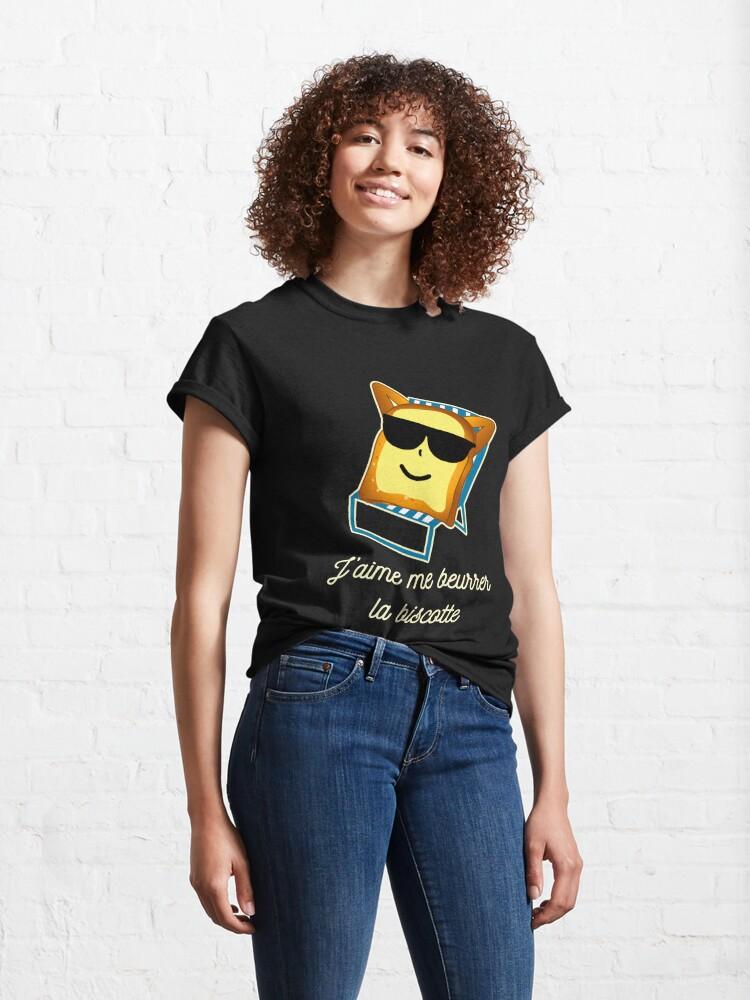 T-shirt classique ''OSS 117 messages drôles': autre vue