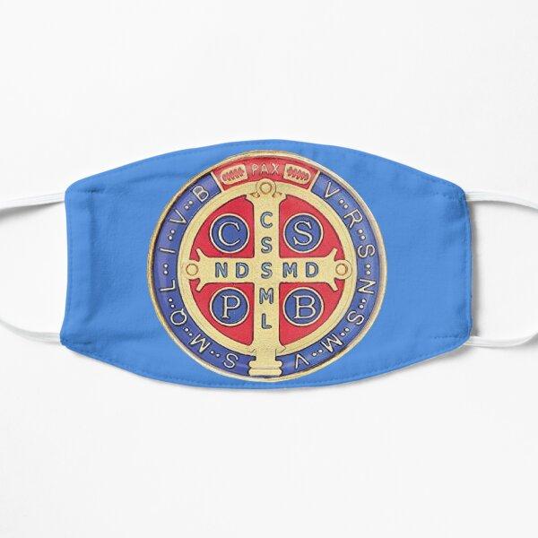 Mascarilla Medalla de San Benito Azul Mascarilla