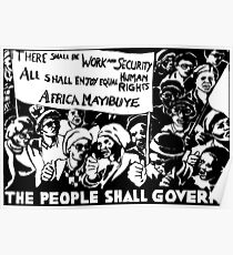 THE PEOPLE SHALL GOVERN! Poster