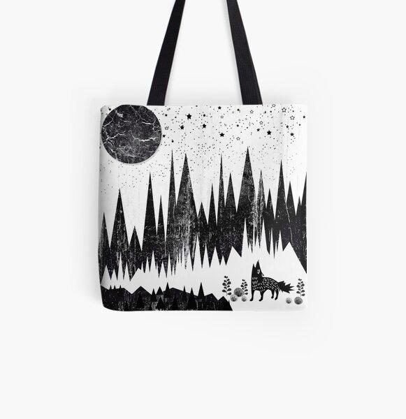 Moonshine All Over Print Tote Bag