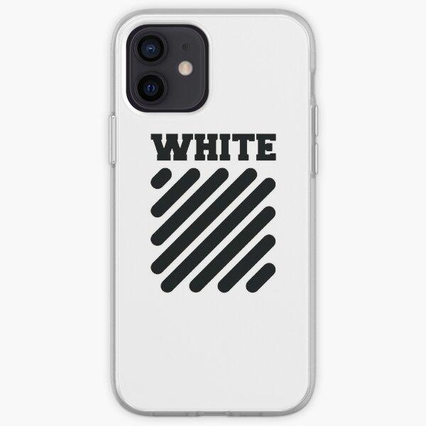 Blanc Coque souple iPhone