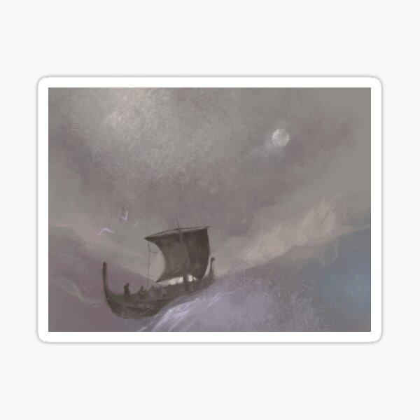 The Hermit's Sanctuary Ship Sticker