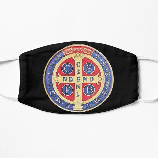Mascarilla Medalla de San Benito negra Mascarilla