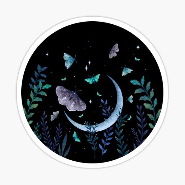 Moth Garden Sticker