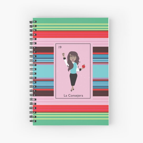 La Consejera Spiral Notebook