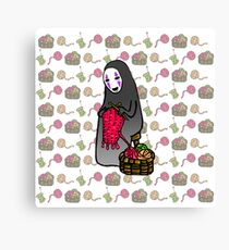 Crafts with No-Face Canvas Print