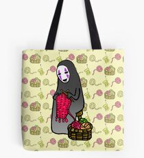 Crafts with No-Face Tote Bag