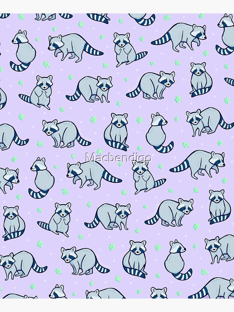 Raccoon Goons by Macbendigo