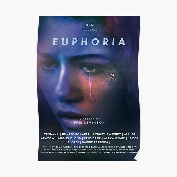 EUPHORIA ZENDAYA TV SHOW POSTER Poster
