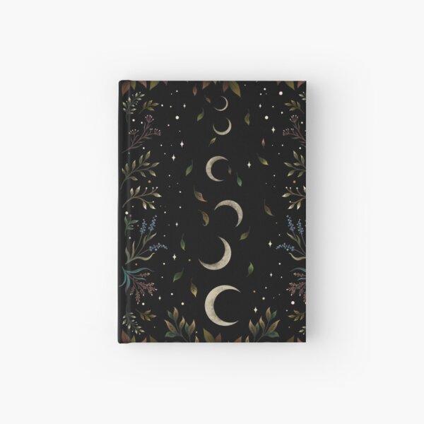 Crescent Moon Garden Hardcover Journal