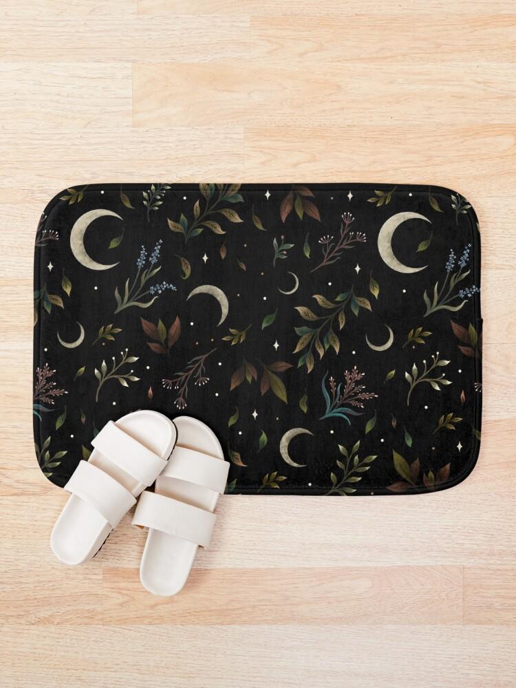 Alternate view of Crescent Moon Garden Bath Mat