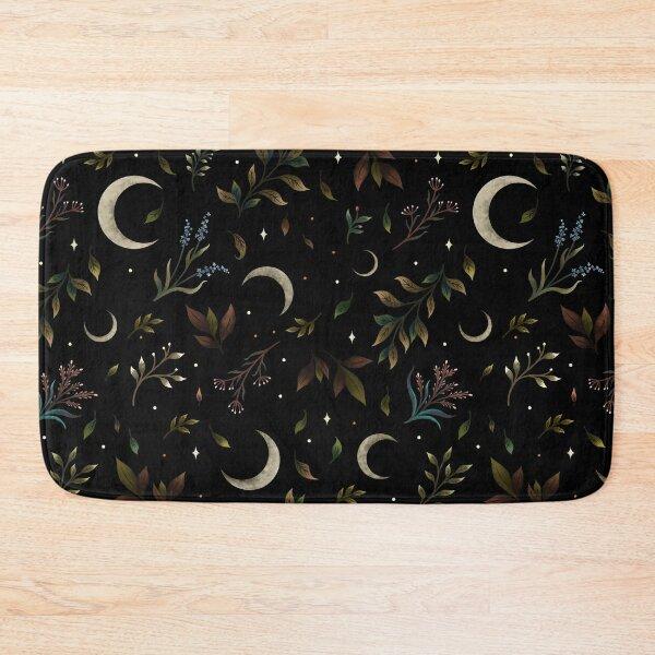 Crescent Moon Garden Bath Mat