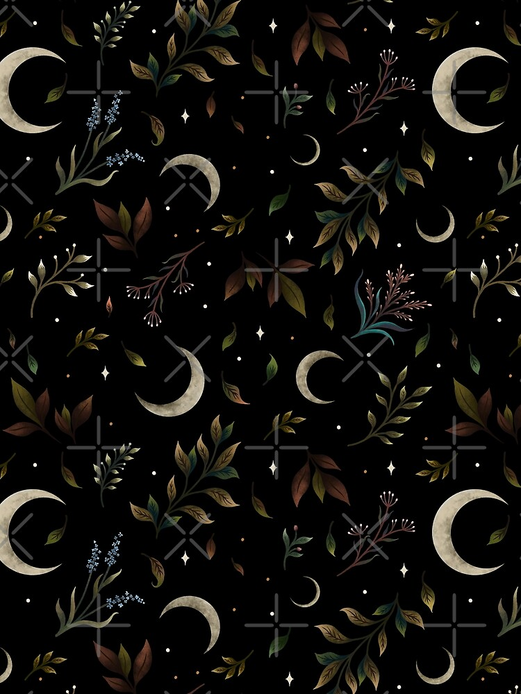 Crescent Moon Garden by episodicDrawing