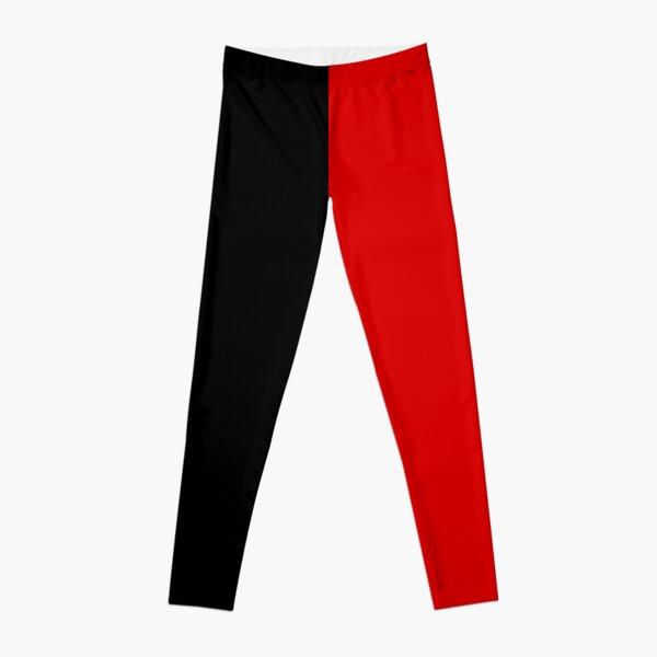 Black and Red Cosplay Pants Leggings