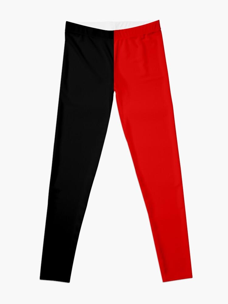 Alternate view of Black and Red Cosplay Pants Leggings
