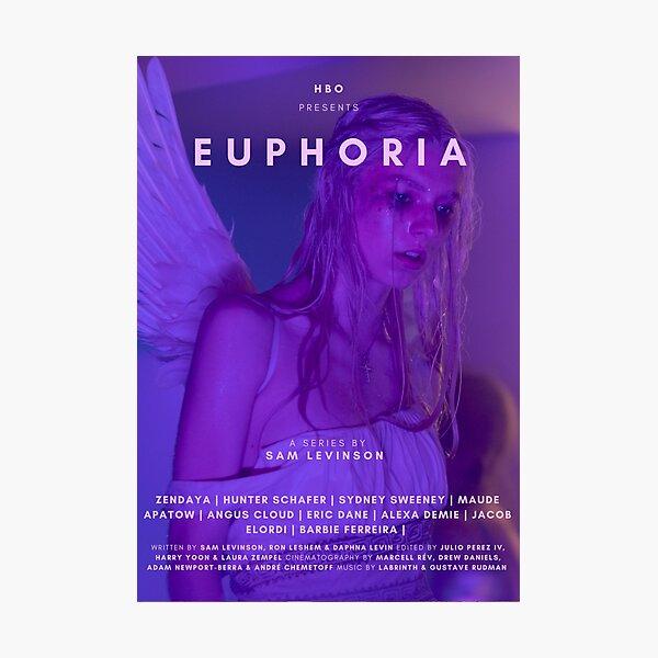 EUPHORIA HUNTER SCHAFER TV SHOW POSTER Photographic Print