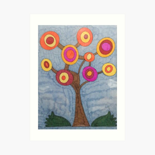 Hope Tree Art Print