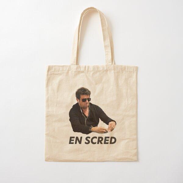 Bruel Poker Face Cotton Tote Bag