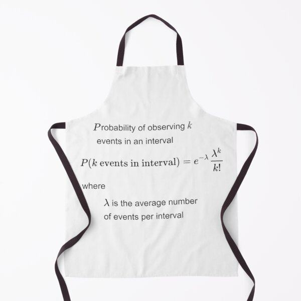 Poisson distribution #Poisson #distribution #PoissonDistribution Apron