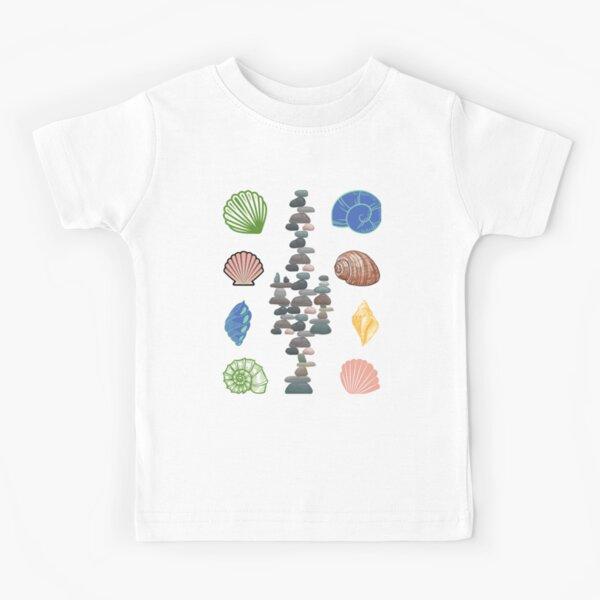 Sensational Seashells Kids T-Shirt