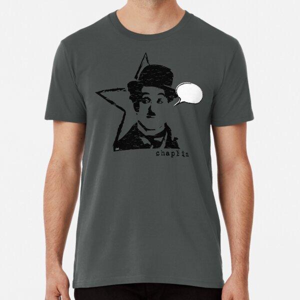 CHAPLIN CHARLOT Camiseta premium