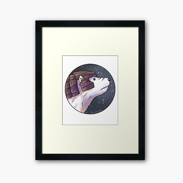 Iorek Byrnison - His Dark Materials Framed Art Print