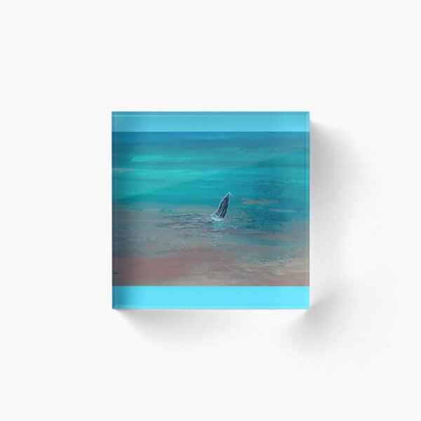 Inverted Sail  Acrylic Block