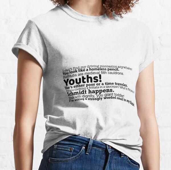 Schmidt Quotes Classic T-Shirt