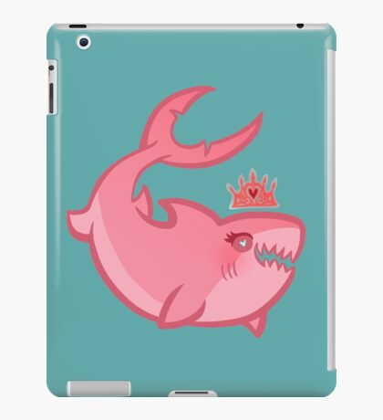 Shark Princess iPad Case/Skin