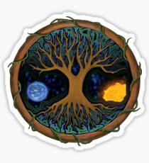 Astral Tree of Life Sticker