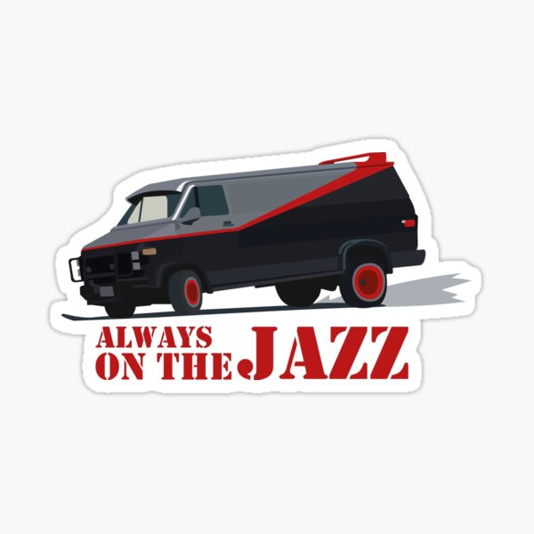 On the Jazz Sticker