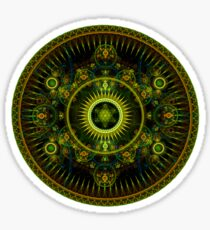 Metatron's Magick Wheel ~ Sacred Geometry Sticker